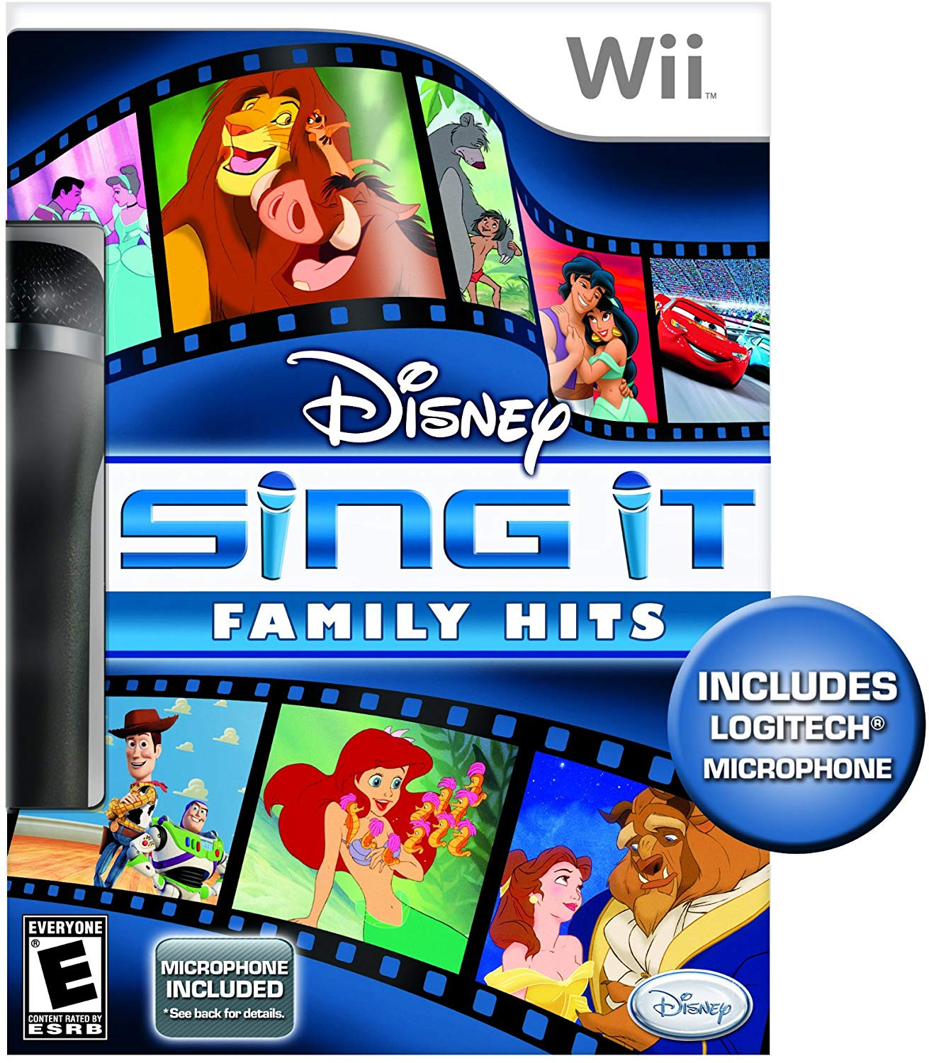 Disney Sing It Family Hits Logitech Mikrofonnal