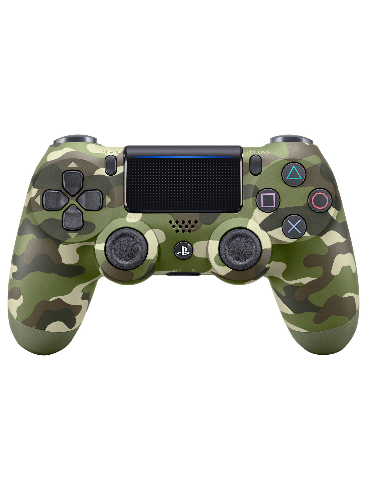Sony Playstation 4 Dualshock 4 Wireless Controller Green Camo (Refurbished/felújított)