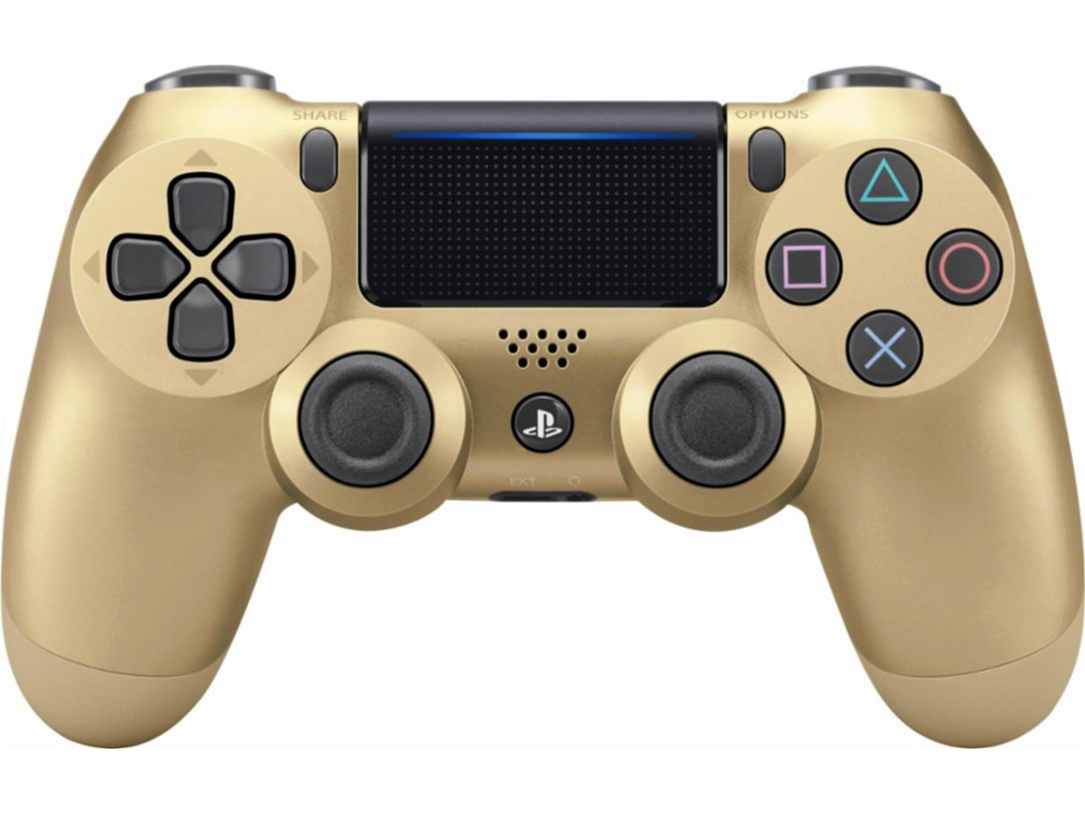 Sony Playstation 4 Dualshock 4 Wireless Controller Gold (Refurbished/felújított)