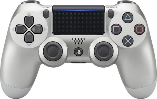 Sony Playstation 4 Dualshock 4 Wireless Controller Silver (Refurbished/felújított) - PlayStation 4 Kontrollerek