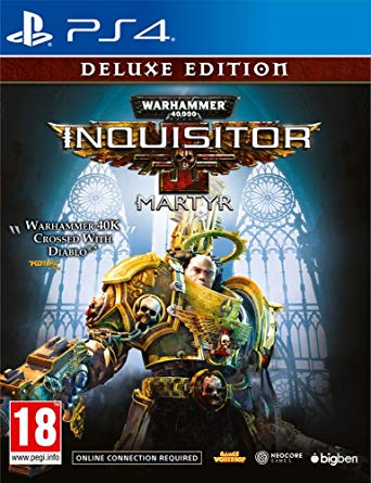 Warhammer 40000 Inquisitor Martyr Deluxe Edition