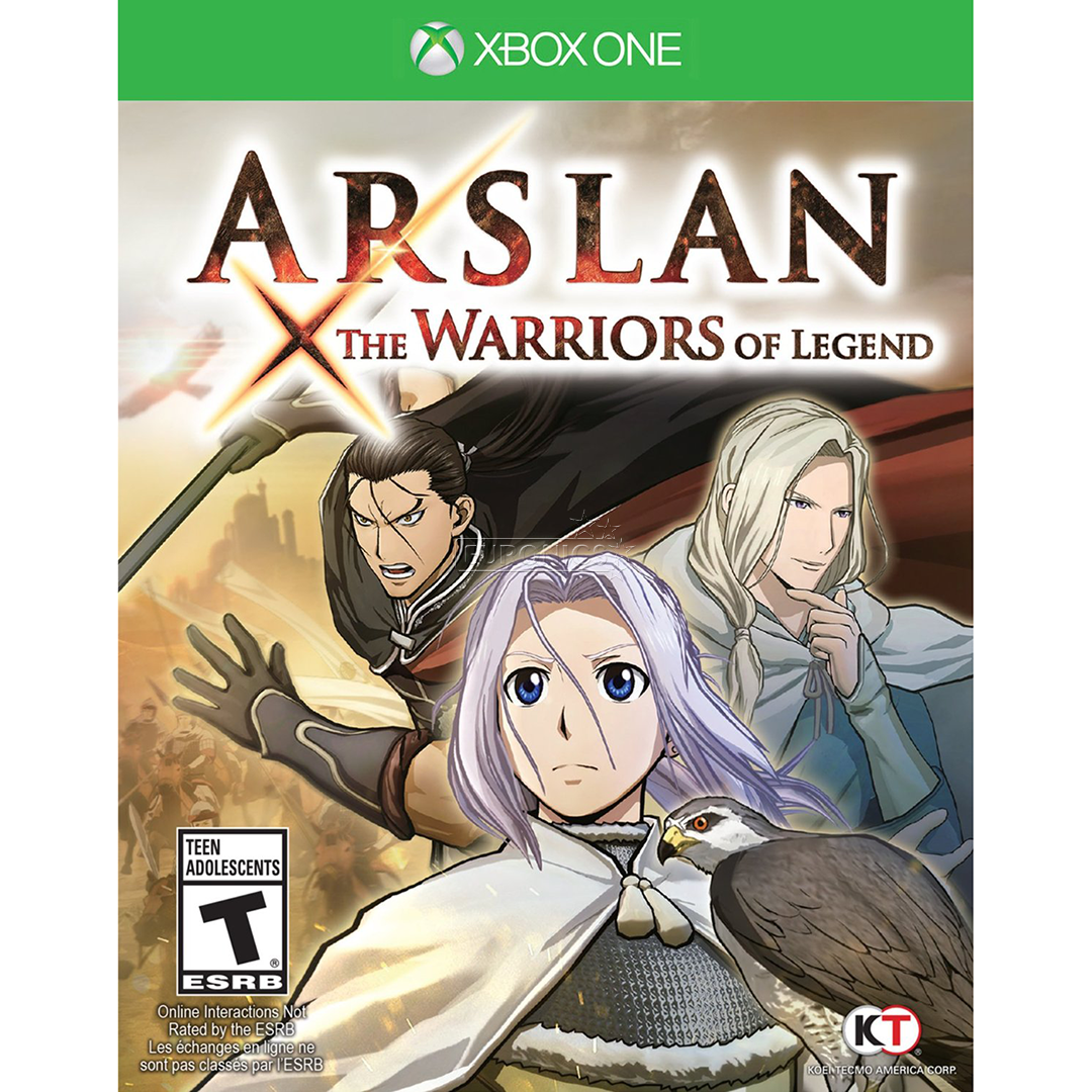 Arslan The Warriors of Legends