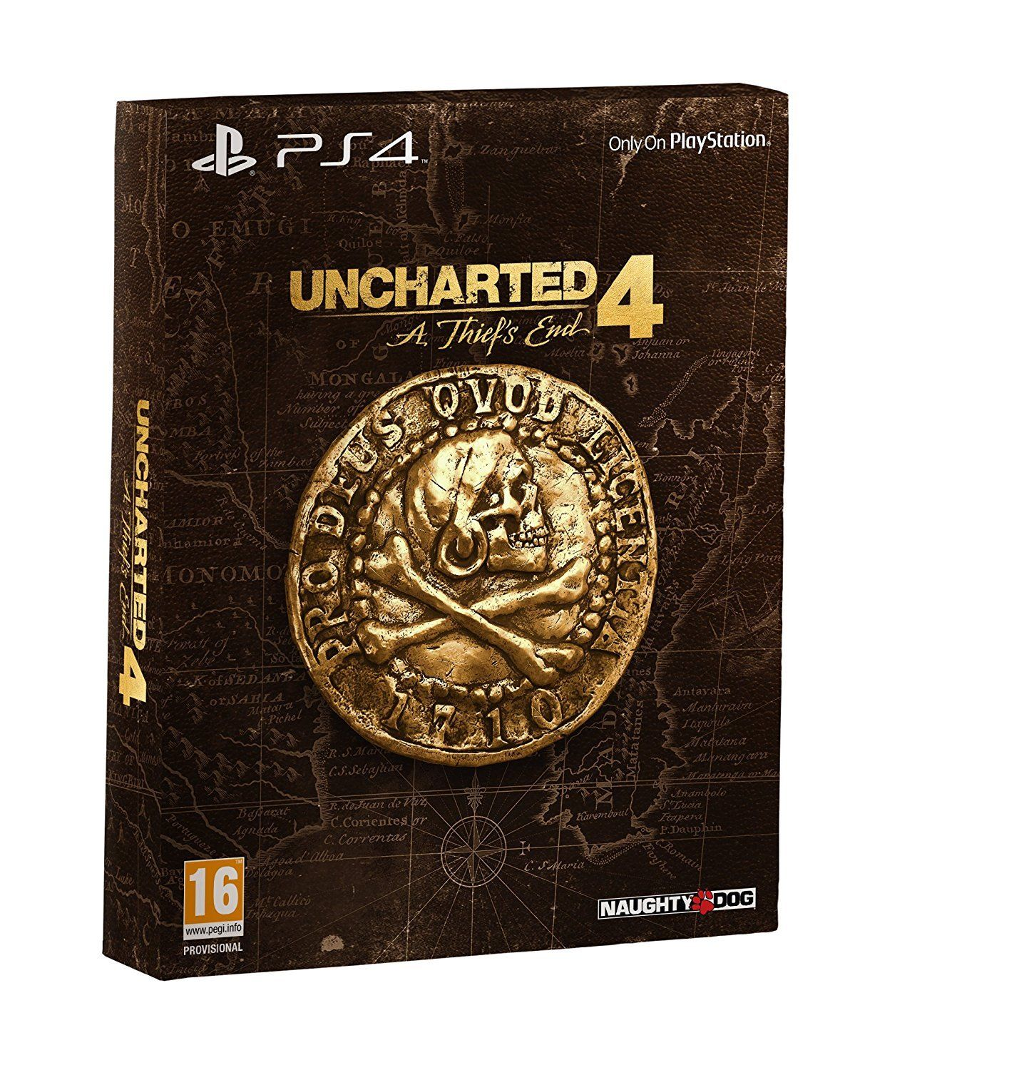 Uncharted 4 A Thiefs End Special Collectors Edition - Német