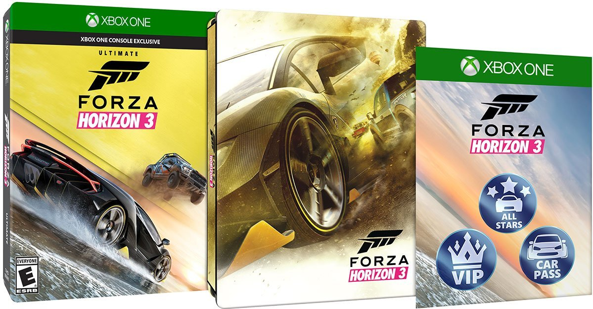 Forza Horizon 3 Steelbook Edition