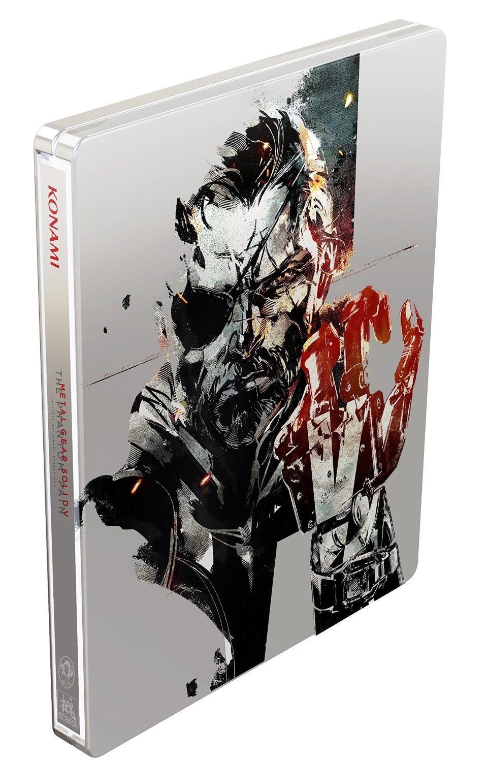 Metal Gear Solid V The Phantom Pain Steelbook - Játék nélkül