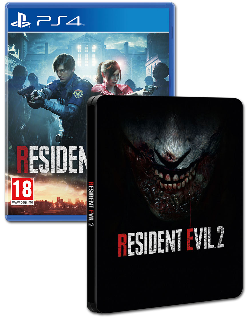 Resident Evil 2 Steelbook Edition (2019) - PlayStation 4 Játékok