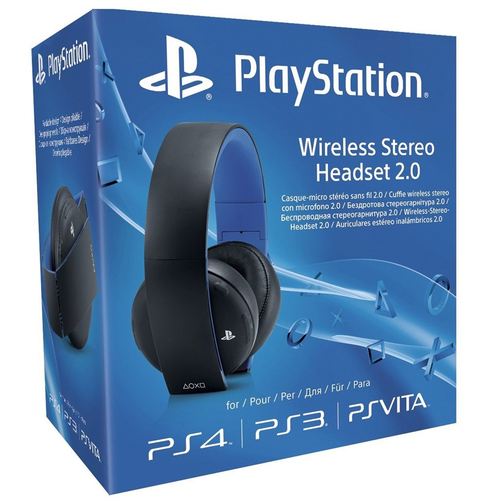 PlayStation Wireless Stereo Hedset 2.0
