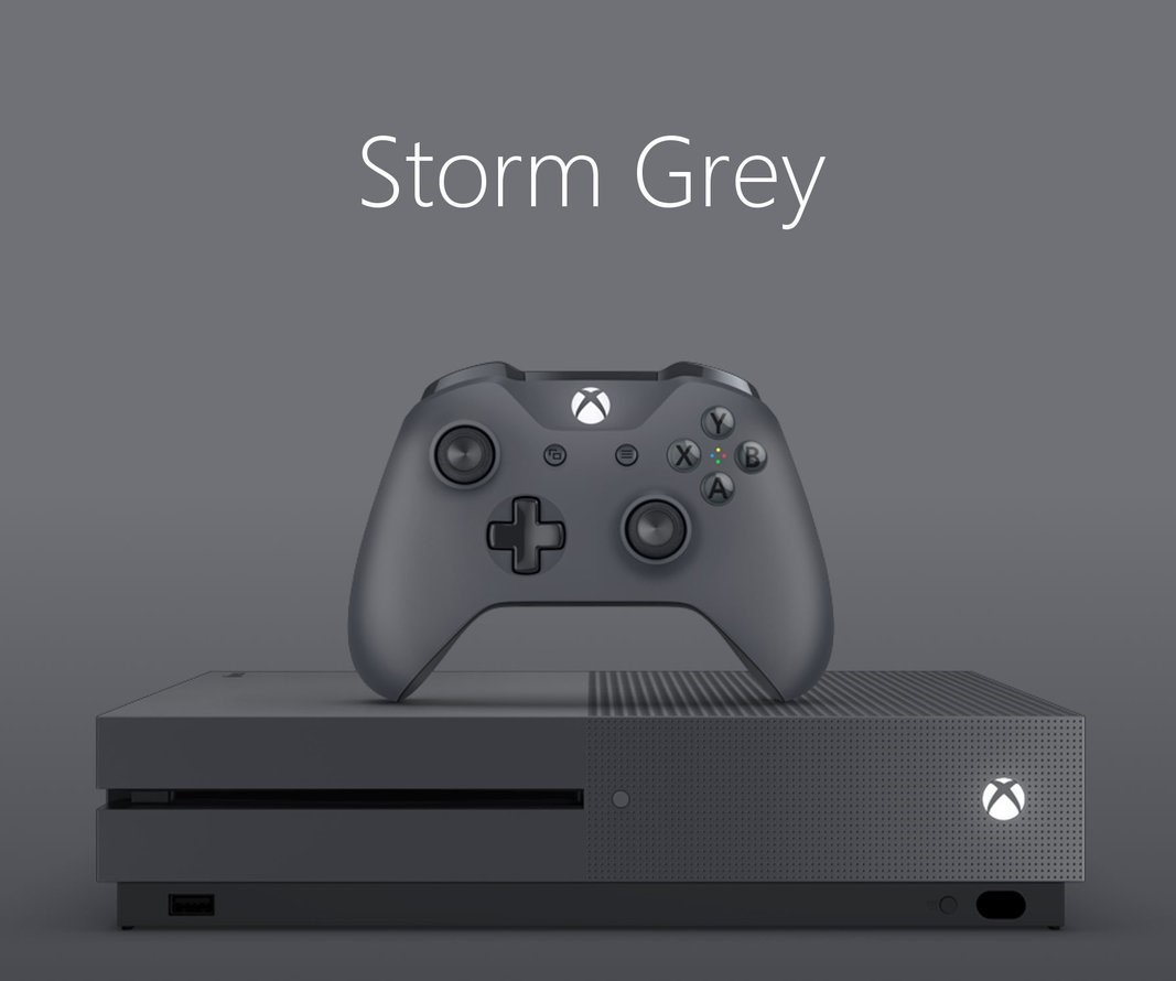 Xbox One S 500 GB Storm Grey Special Edition