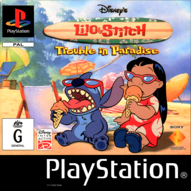 Disney Lilo and Stitch Trouble in Paradise