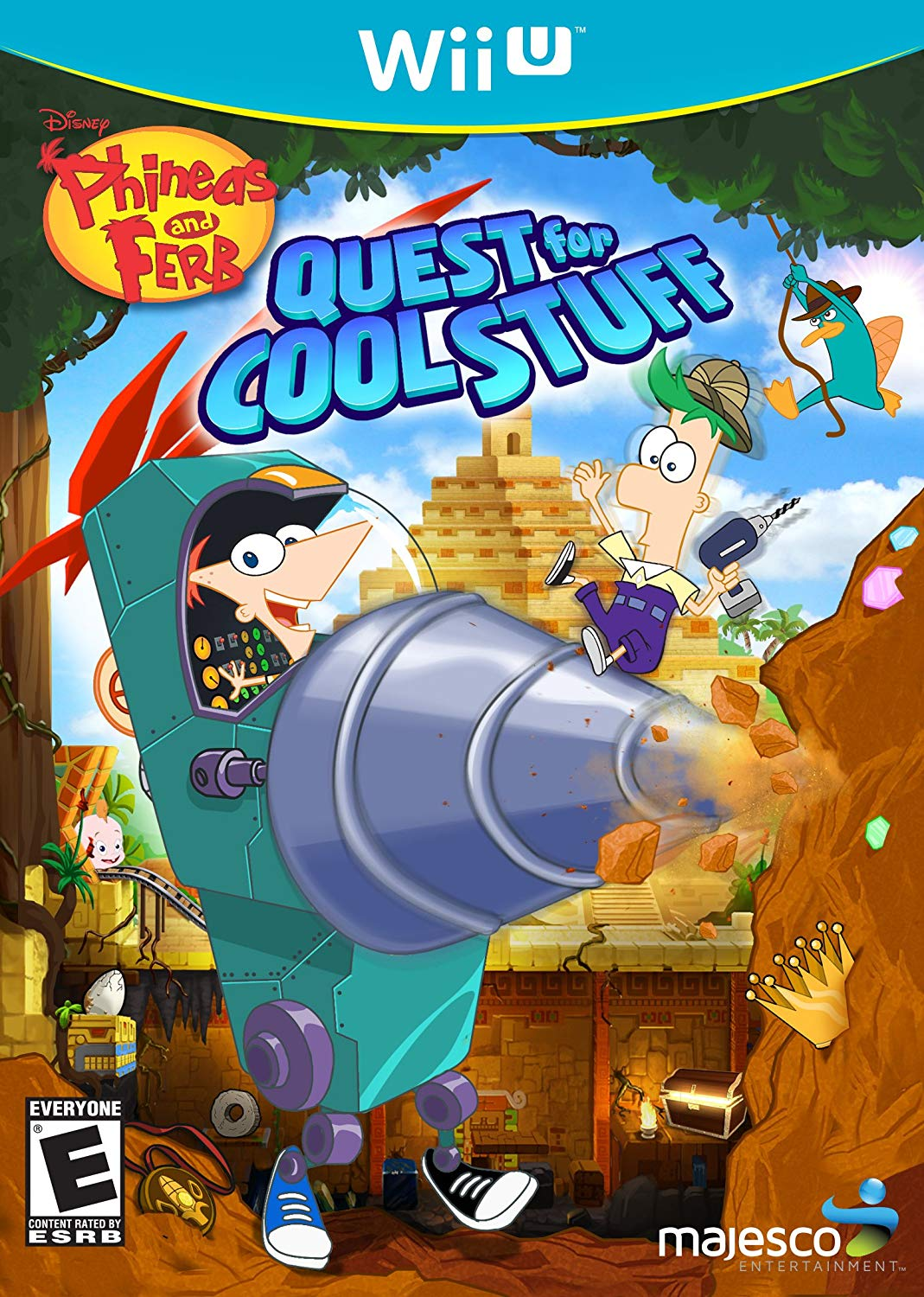 Phineas and Ferb Quest for Cool Stuff