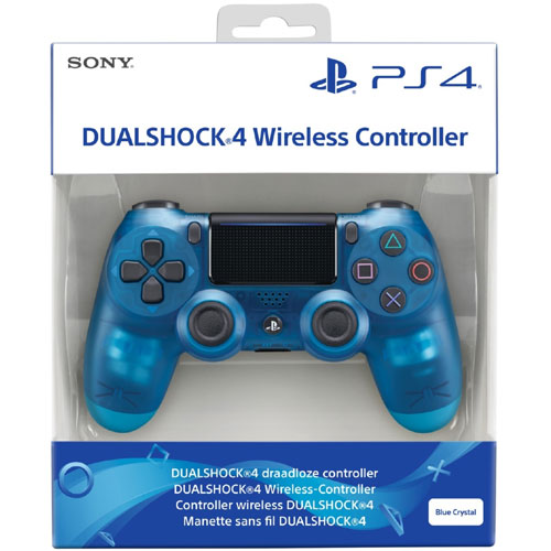 Dualshock 4 V2 Wireless Controller Blue Crystal