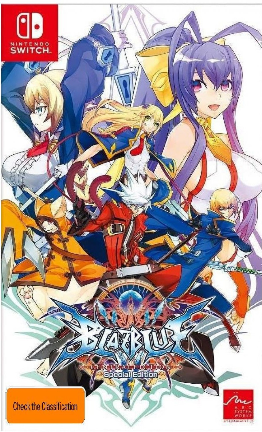 BlazBlue Central Fiction Special Edition