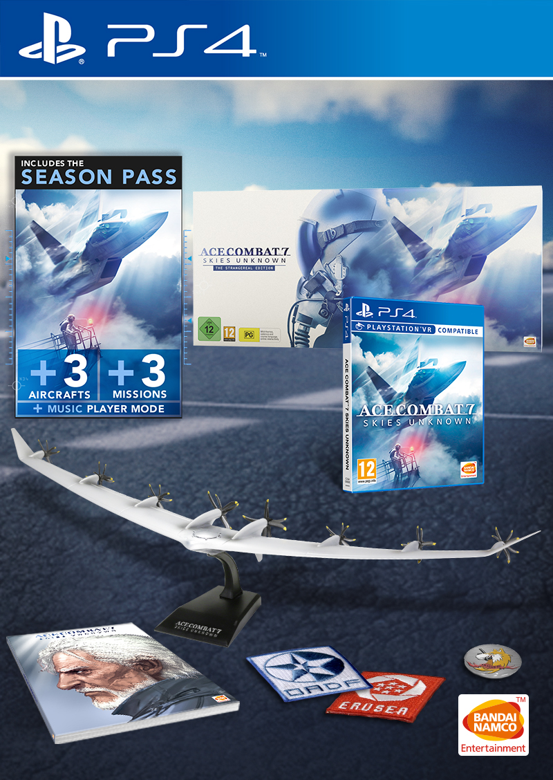 Ace Combat 7 Skies Unknown The Strangereal Edition