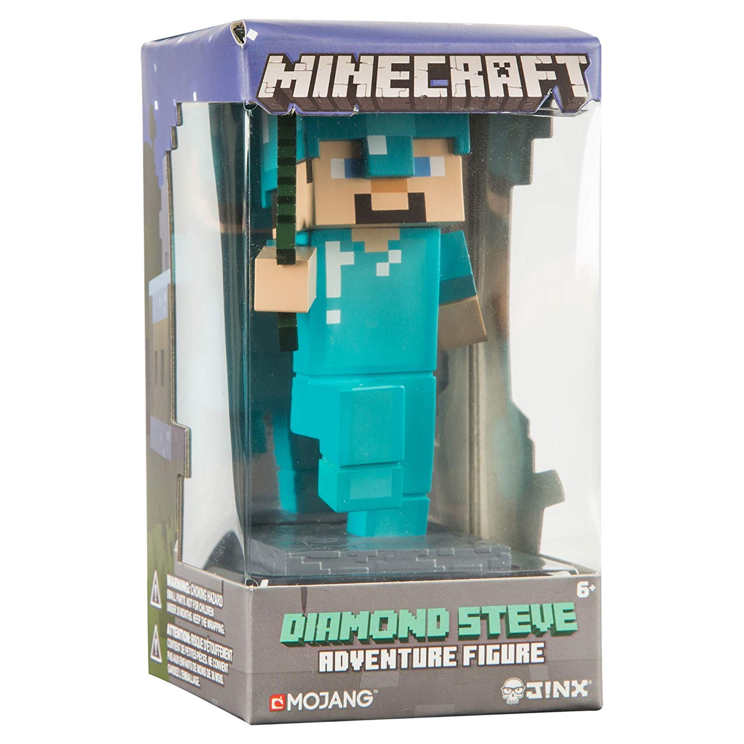 Minecraft Diamond Steve Adventure Figures Series 1