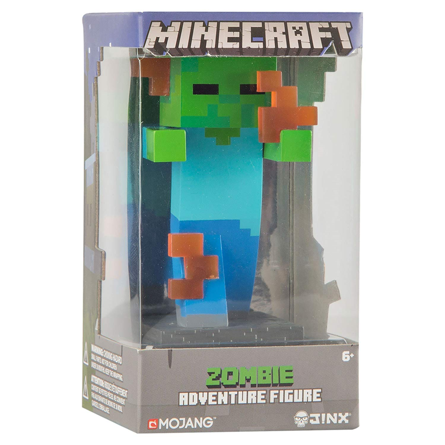 Minecraft Flaming Zombie Adventure Figures Series 1