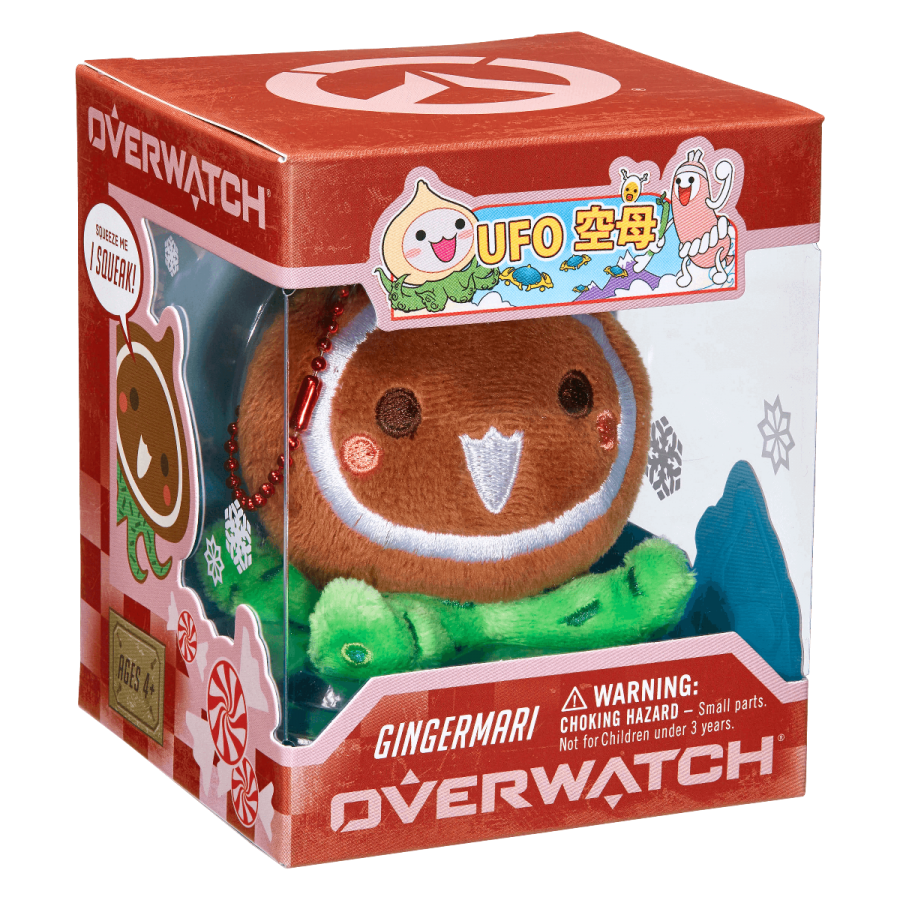 Overwatch Mini Pachimari Plush Hangers  Gingermari
