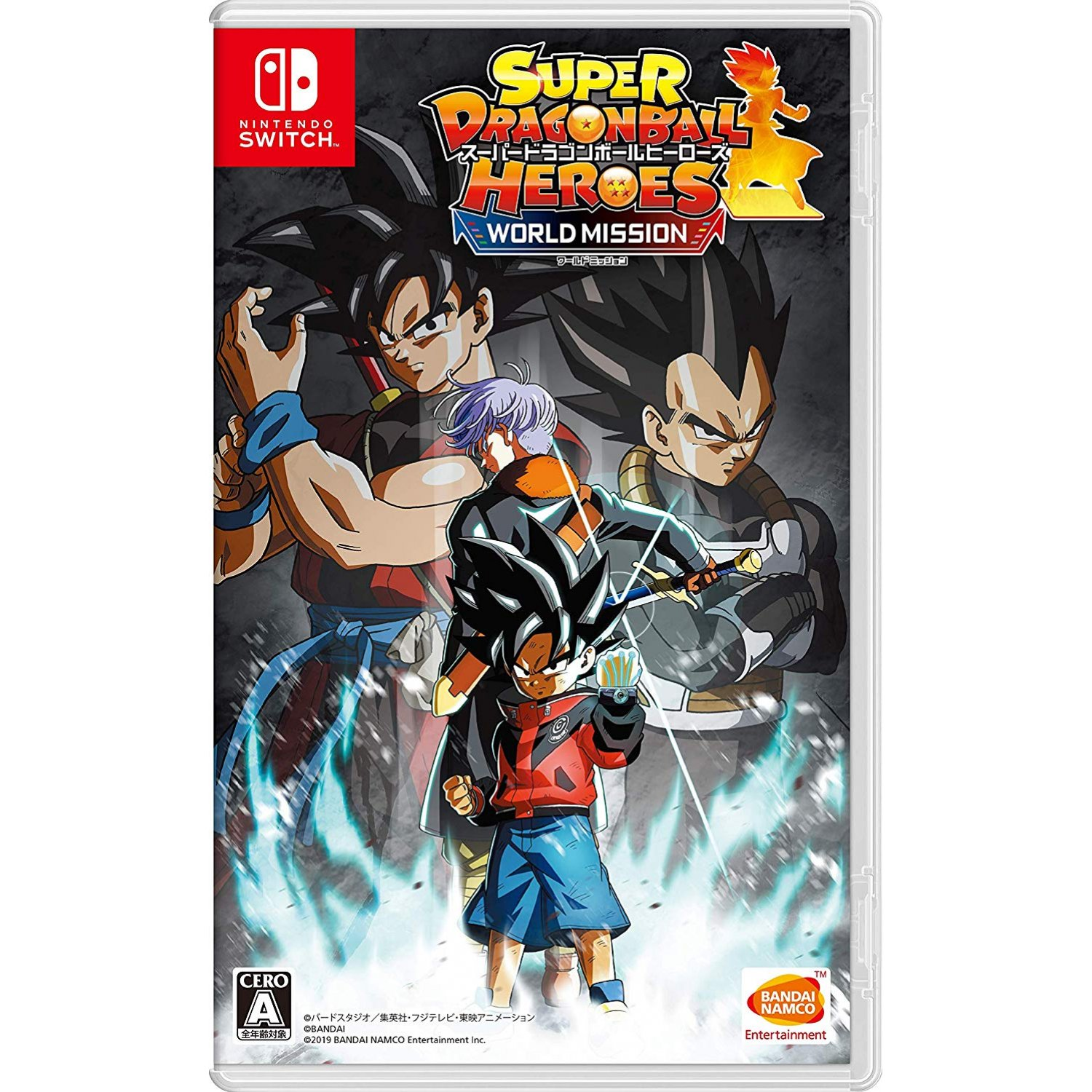 Super Dragon Ball Heroes World Mission - Nintendo Switch Játékok