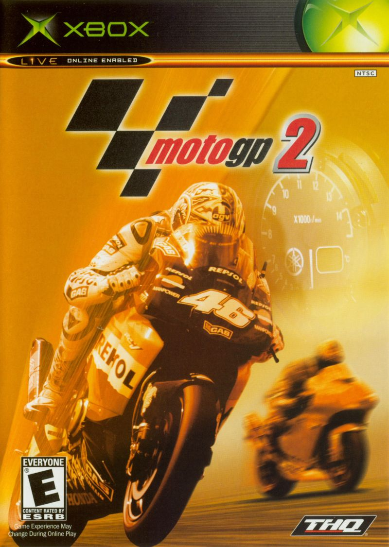 Moto GP Ultimate Racing Technology 2 - Xbox Classic Játékok