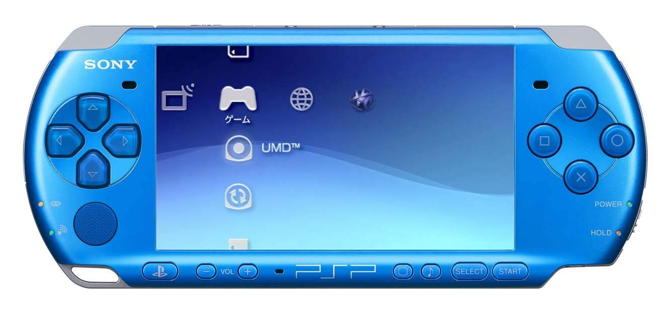 Playstation Portable Slim & Lite VIBRANT BLUE