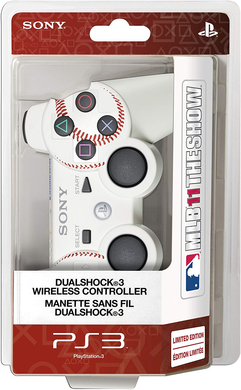 DualShock 3 Wireless Controller MLB 11 The Show Edition
