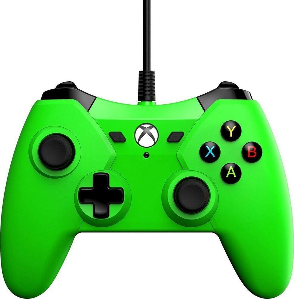 Power A Green Wired Controller for Xbox One