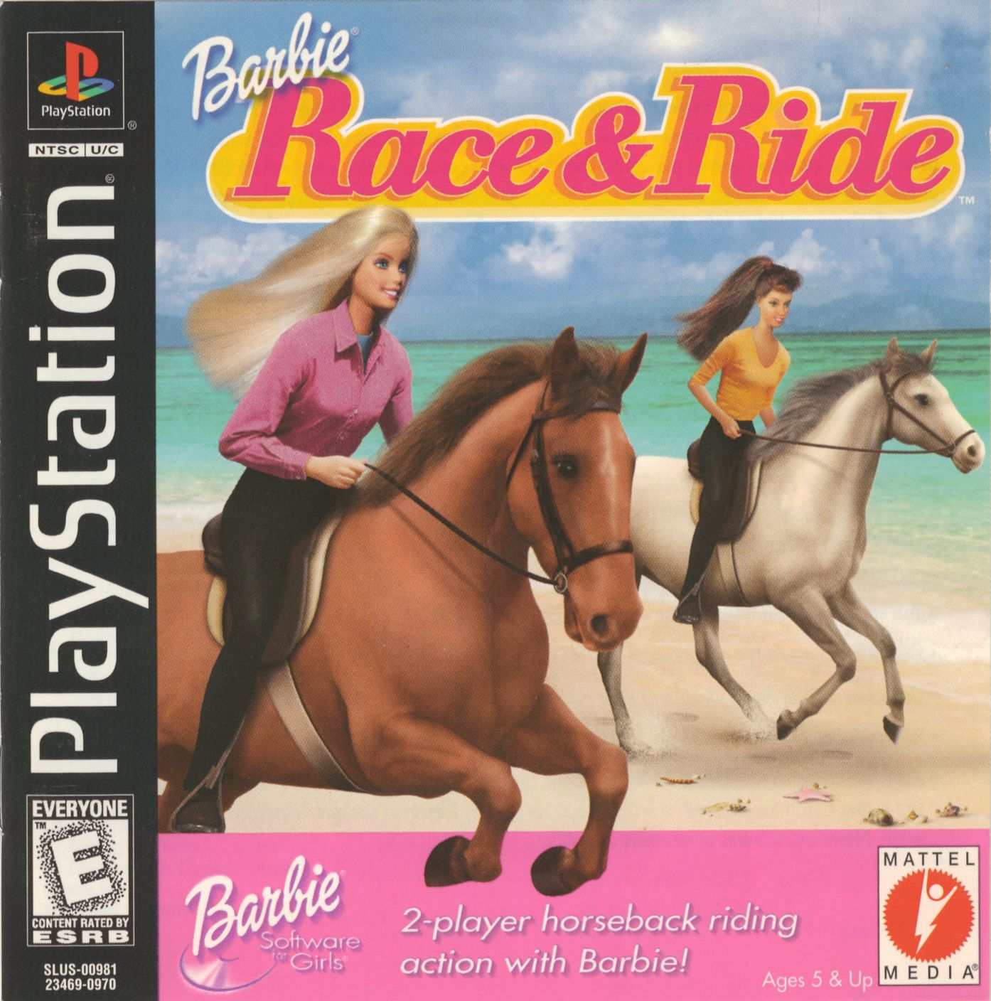 Barbie Race & Ride