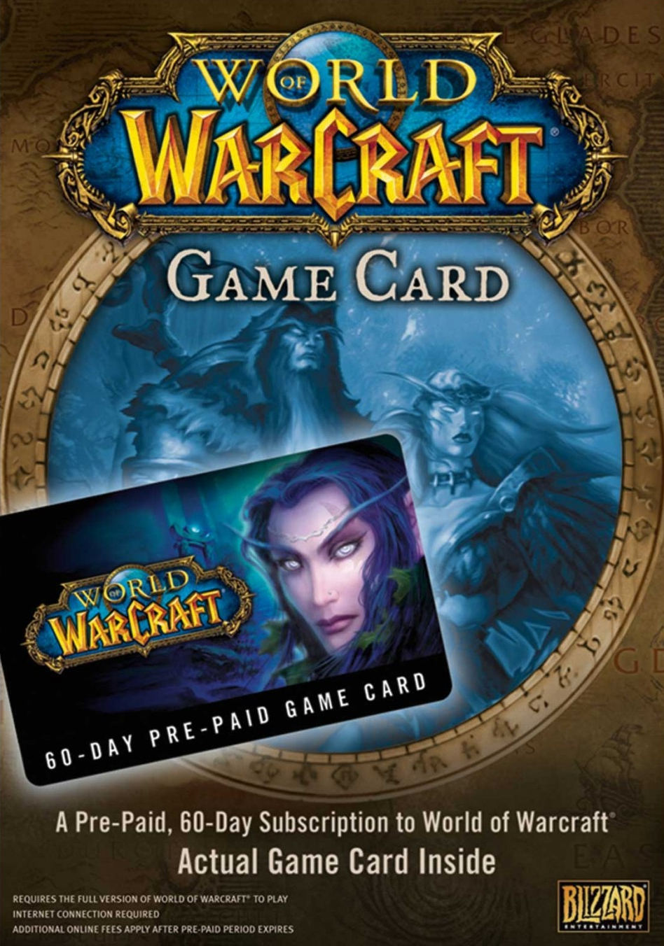 World of Warcraft Game Card (Prepaid Card)