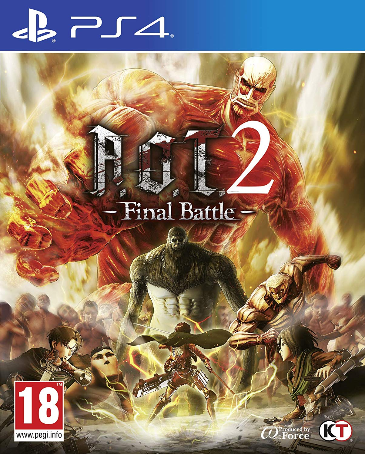 Attack on Titan 2 (AOT 2) Final Battle - PlayStation 4 Játékok