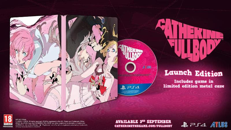 Catherine Full Body Launch Edition