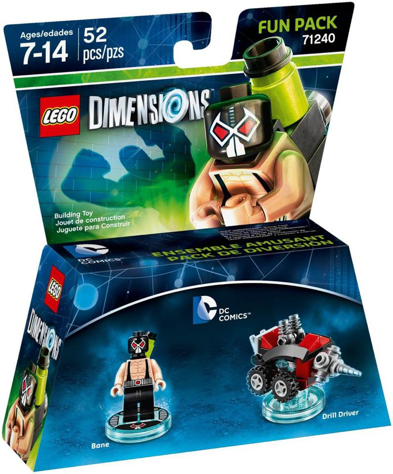 LEGO Dimensions DC Comics Fun Pack (71240)