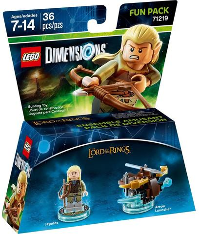 LEGO Dimensions The Lord of the Rings Fun Pack (71219)