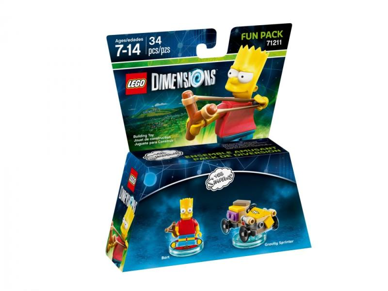 Lego Dimensions The Simpsons Fun Pack (71211)