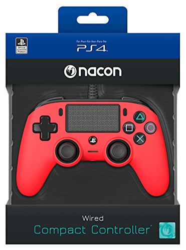 NACON Wired Compact Controller (Piros)