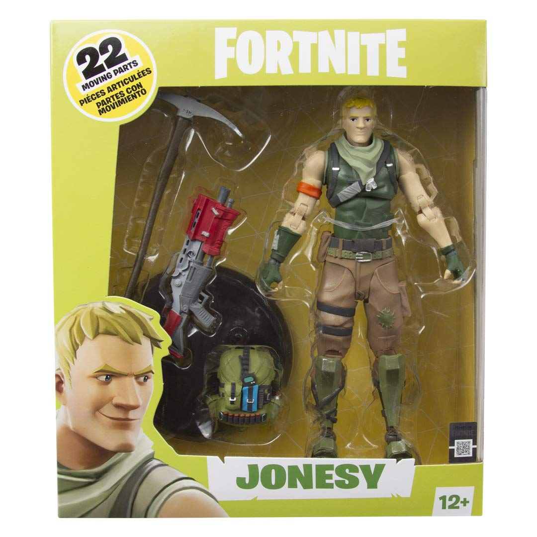 Fortnite Jonesy akciófigura (18cm)
