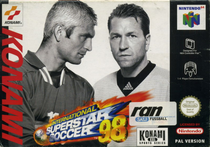 International Superstar Soccer 98 (csak a kazetta)