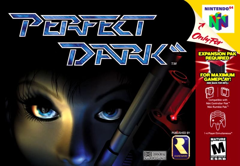 Perfect Dark (csak a kazetta)