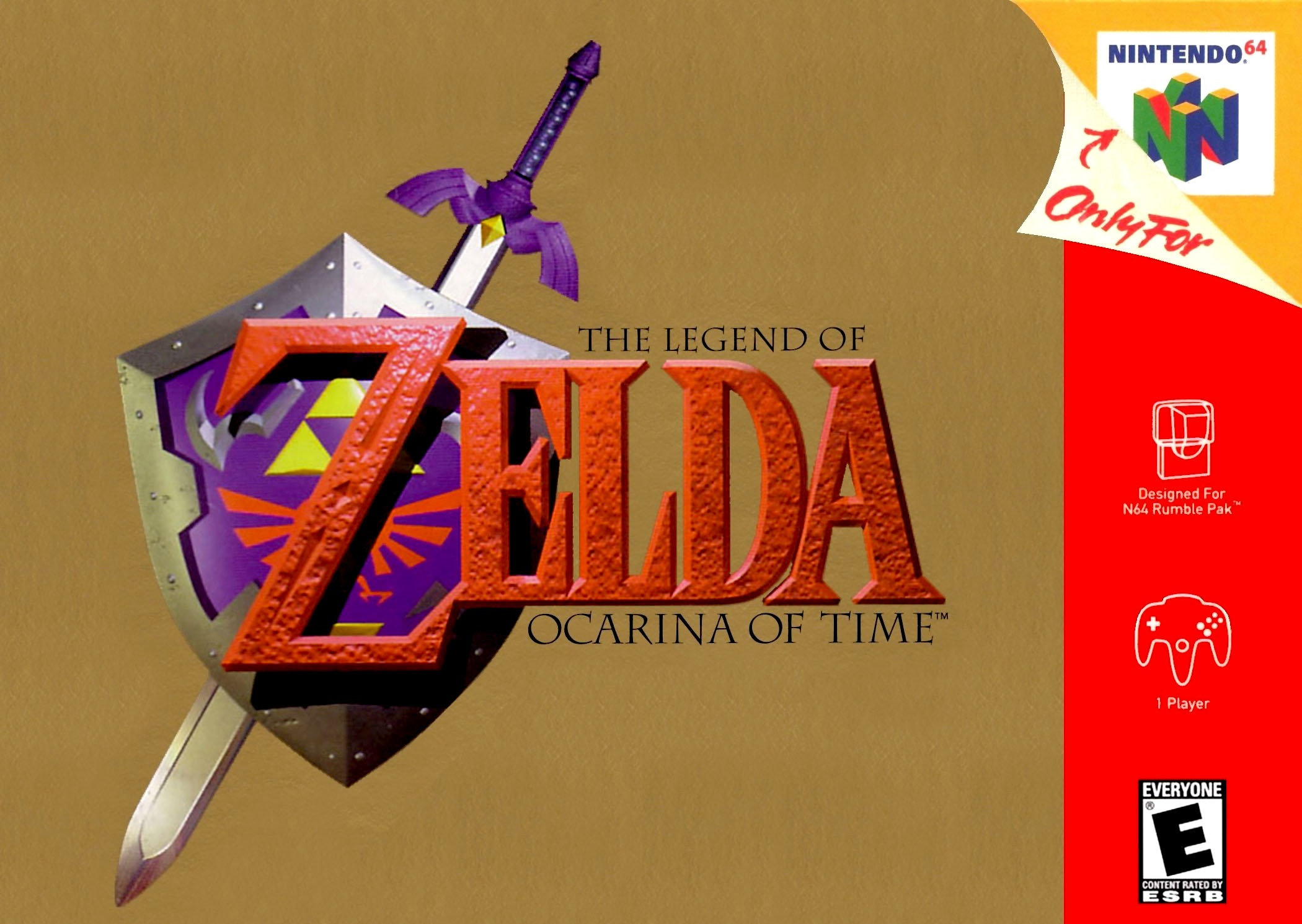 The Legend of Zelda Ocarina of Time (csak kazetta)