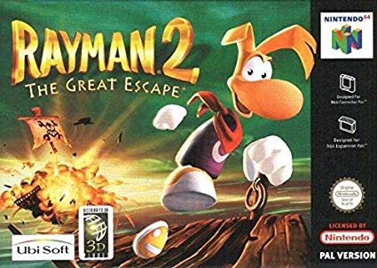 Rayman 2 The Great Escape (csak kazetta)
