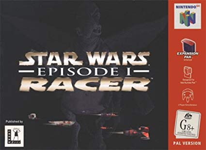 Star Wars Episode I Racer (angol, komplett)