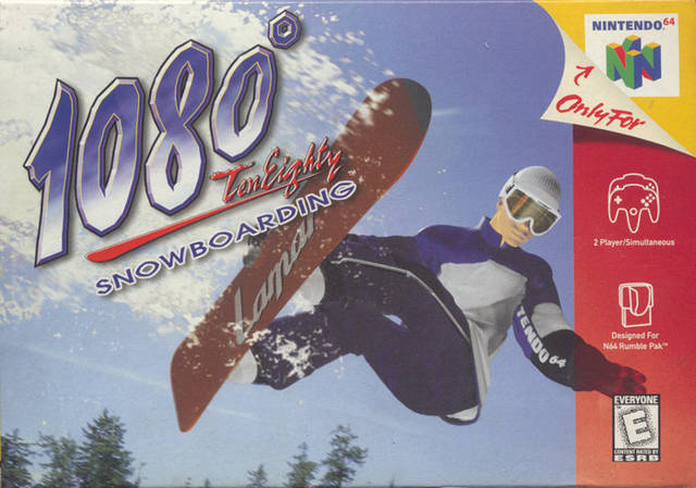 1080° Tom Eighty Snowboarding (Csak a kazetta)