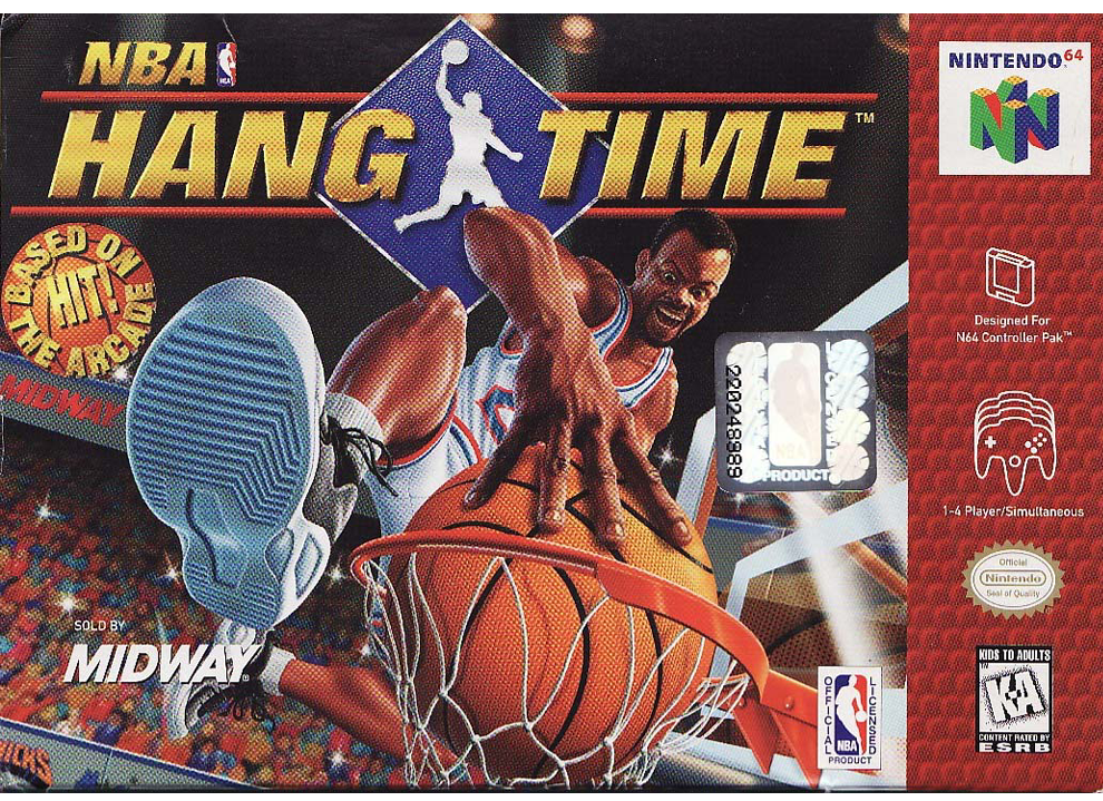NBA Hang Time (Csak a kazetta)