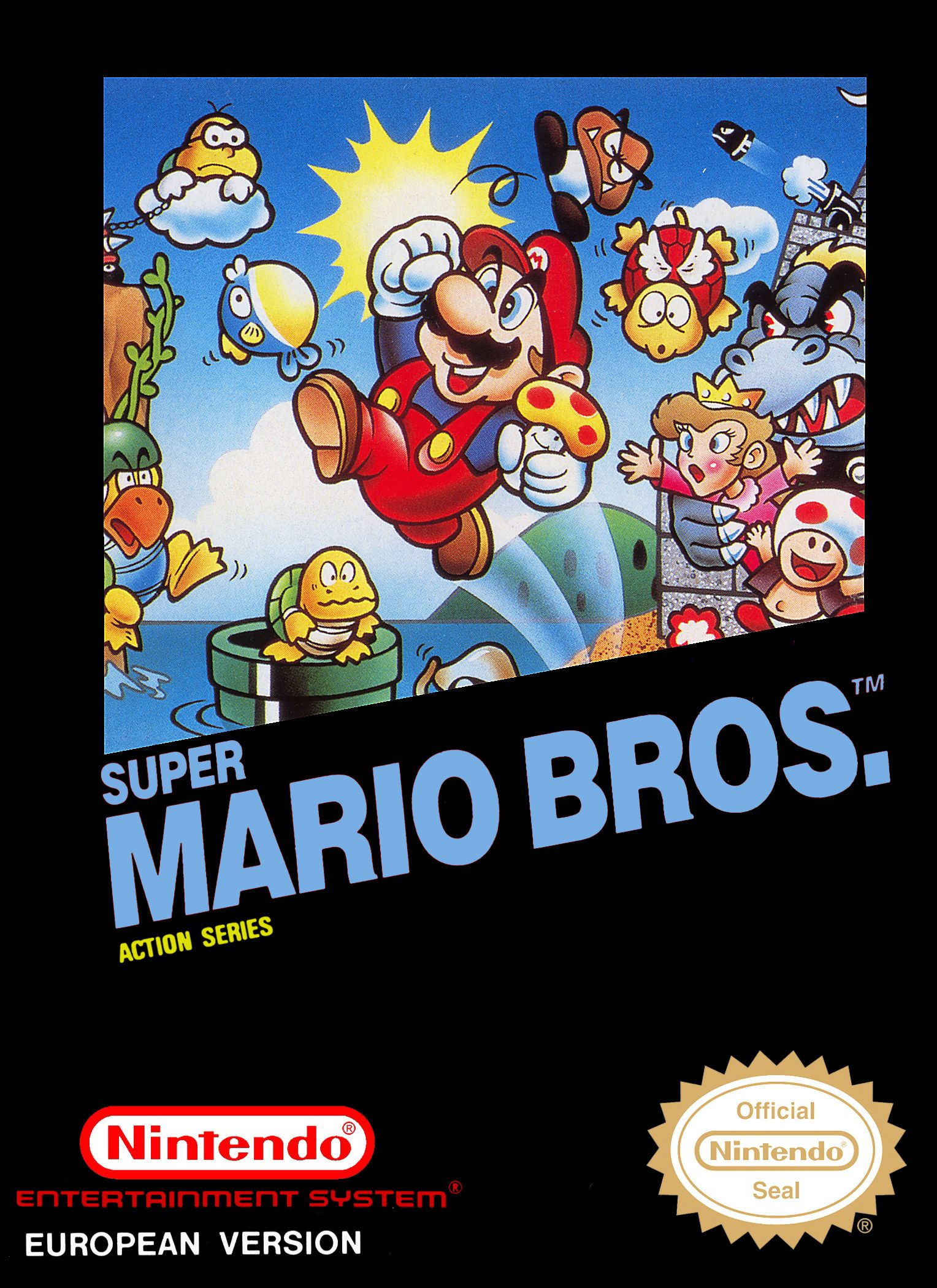 Super Mario Bros. Action Serie (Német)