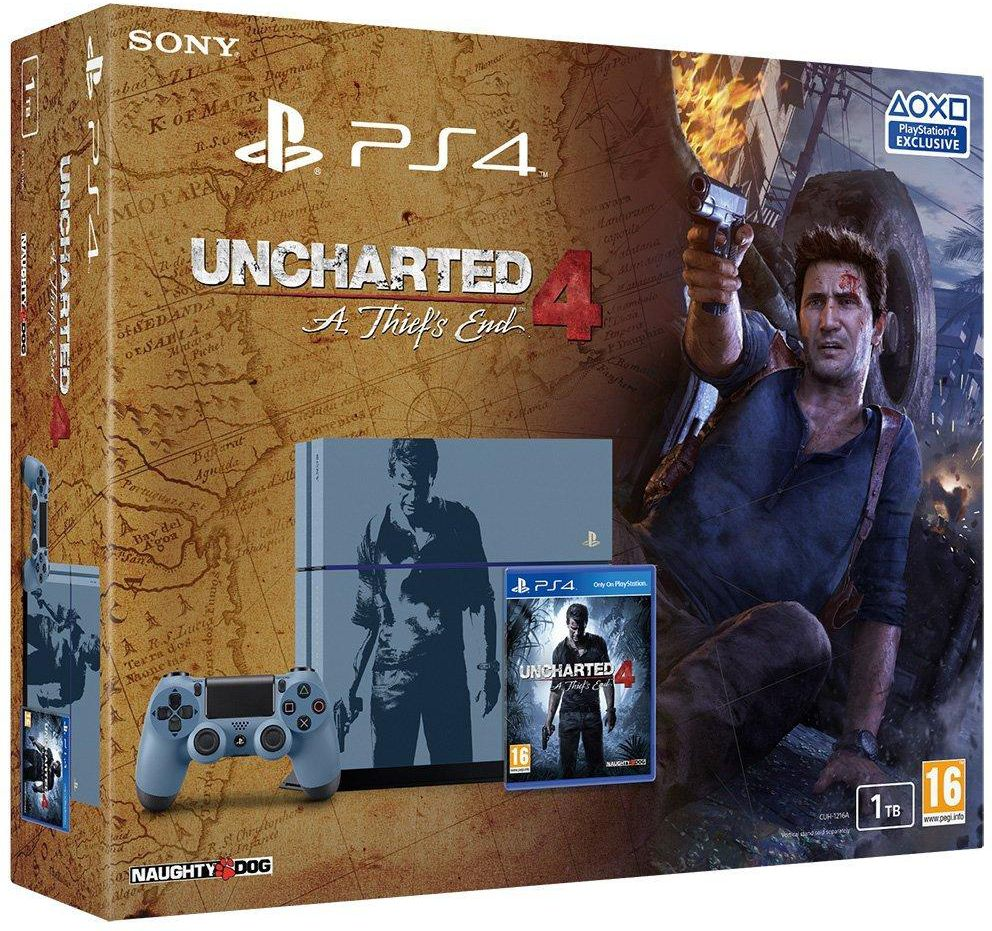 PlayStation 4 1TB Uncharted 4 Limited Edition