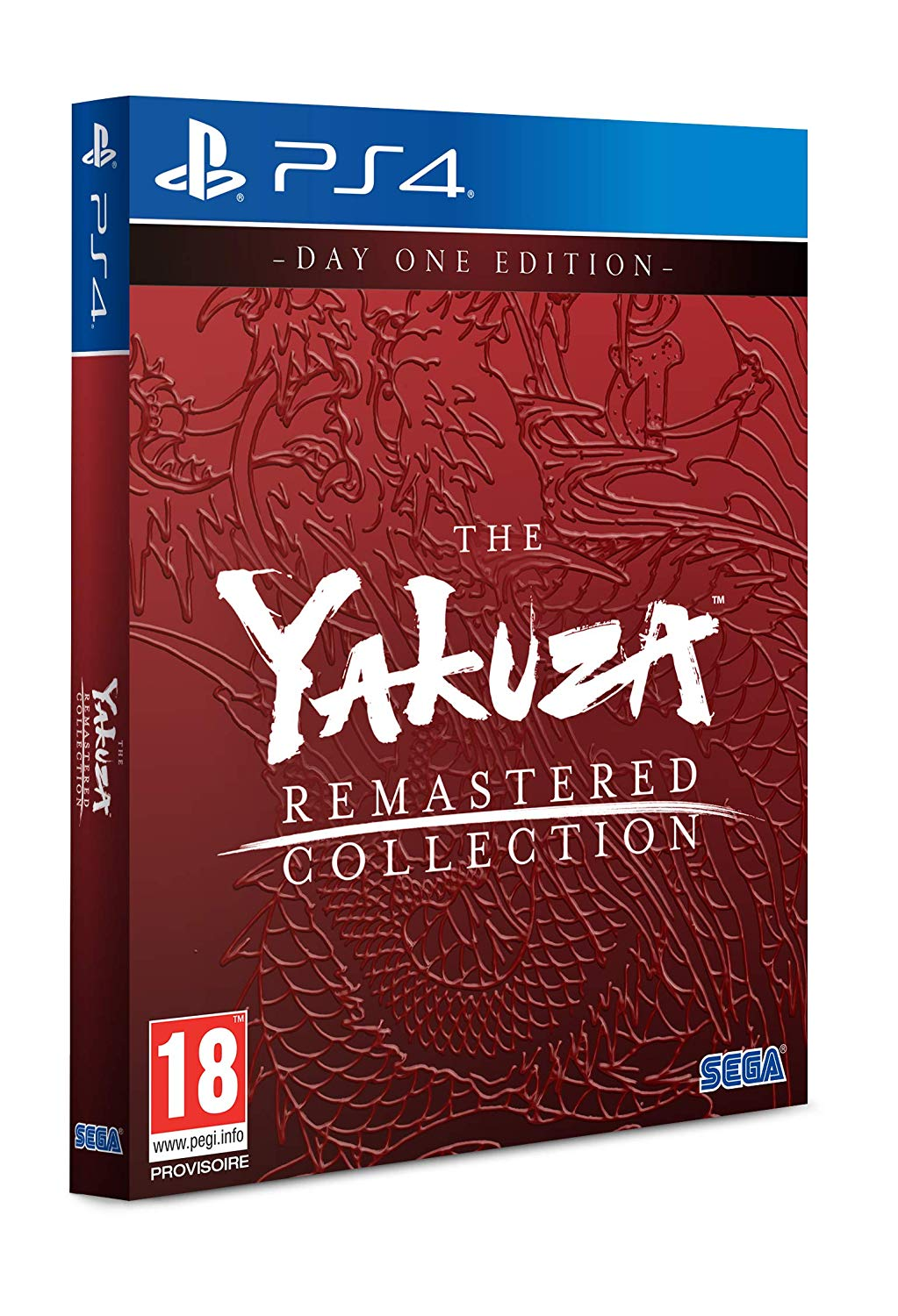 Yakuza Remastered Collection (Day One Edition)