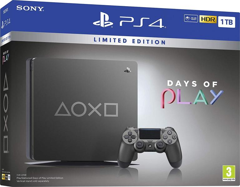 PlayStation 4 Slim 1 TB Days of Play Limited Edition (Garancia 2021.Február)