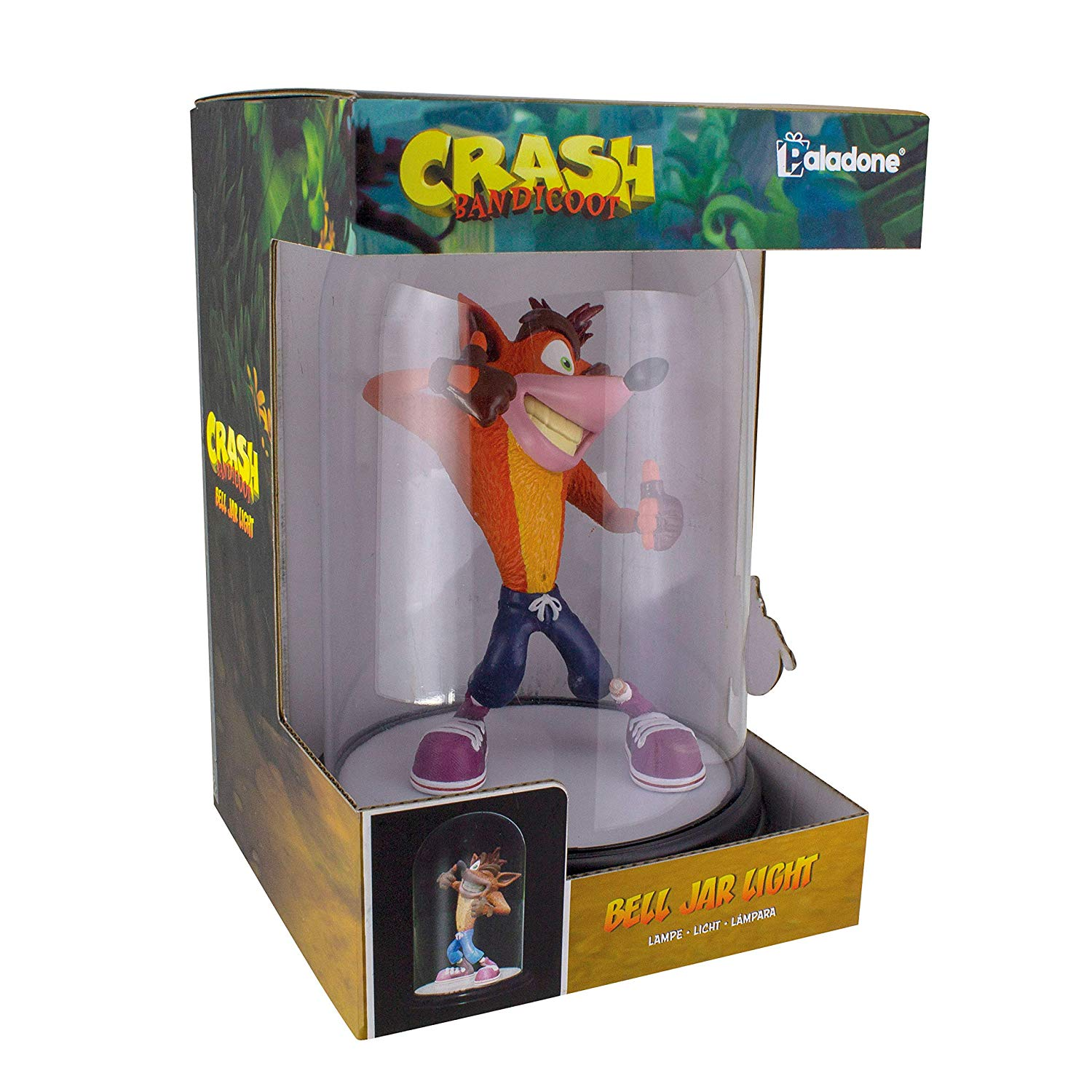 Crash Bandicoot Bell Jar Light