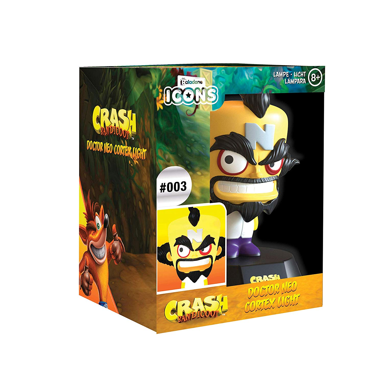 Crash Doctor Neo Cortex Icon Light V2 BDP