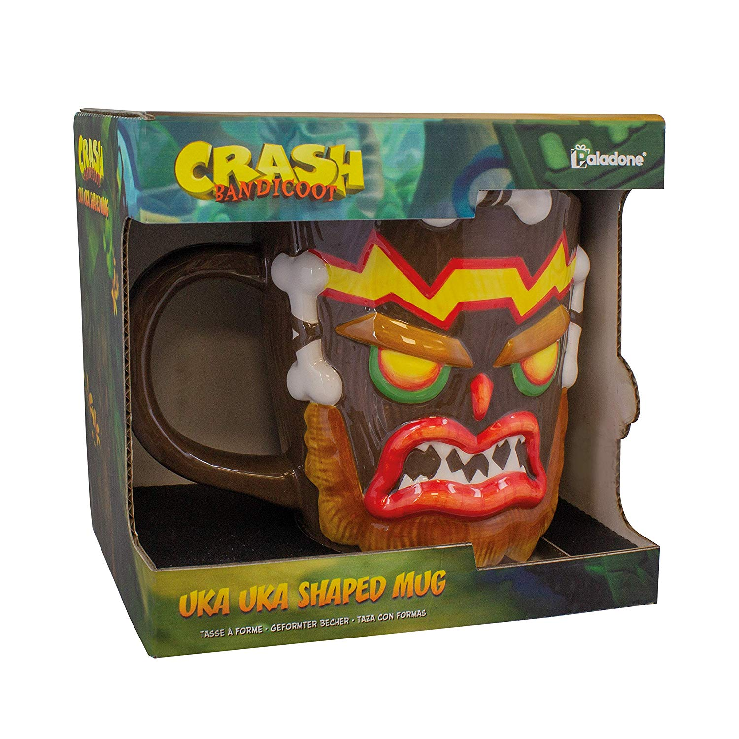 Crash Uka Uka Shaped Mug