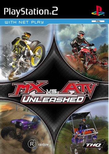 Mx vs ATV Unleashed - PlayStation 2 Játékok