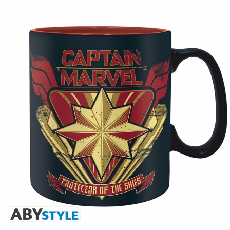 Captain Marvel Bögre
